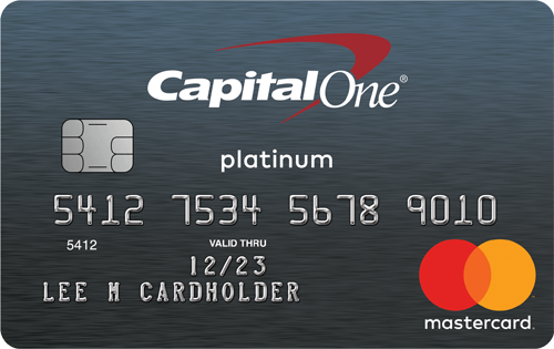 Mastercard® asegurada de Capital One®