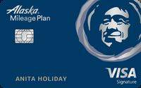 Tarjeta de crédito Visa Signature® de Alaska Airlines