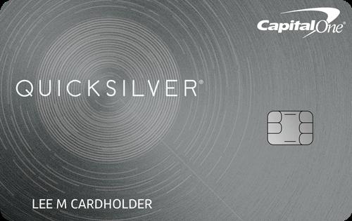 Tarjeta de crédito Capital One® Quicksilver® Cash Rewards